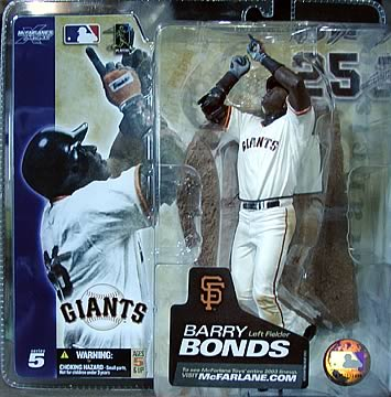 Barry Bonds Home Uniform #25