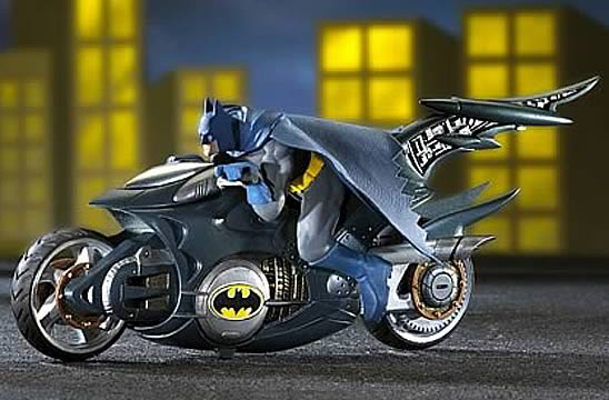 Batcycle with Batman Figure