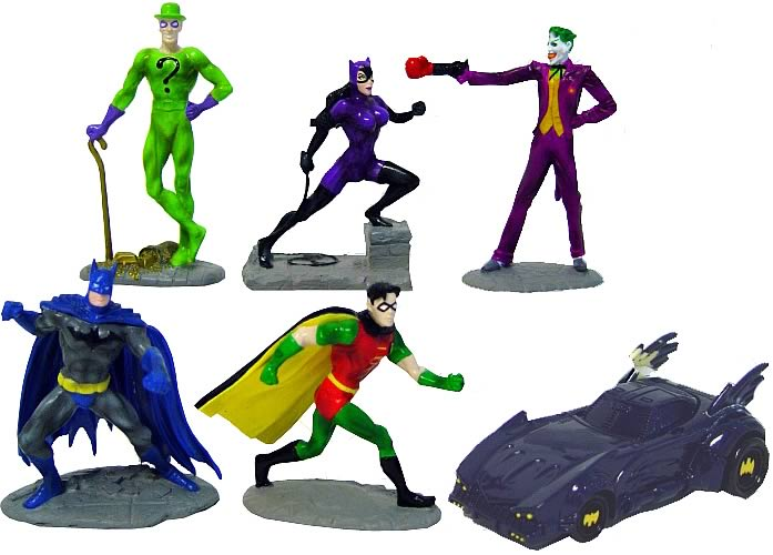 Batman Figurine Box Set
