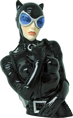Catwoman Bust Bank