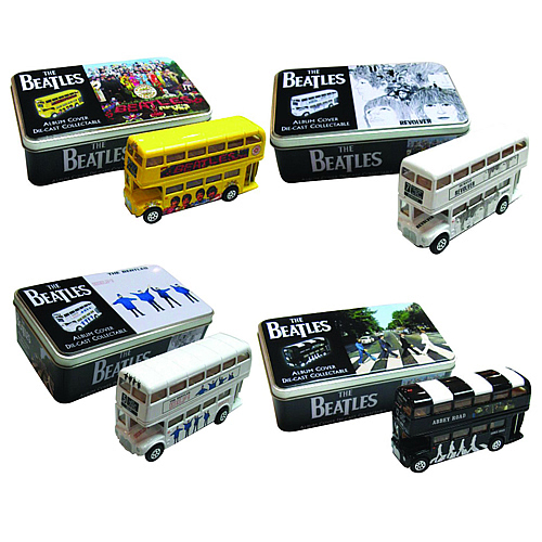 Beatles Die-Cast Bus Tin Series 1 Set