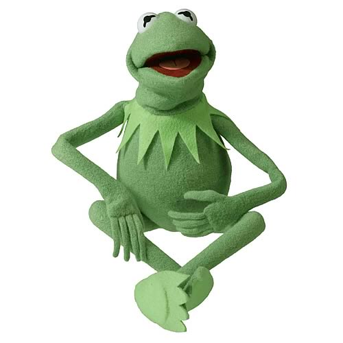 Muppets Kermit the Frog Photo Puppet Replica