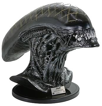 Alien Grid Head Replica