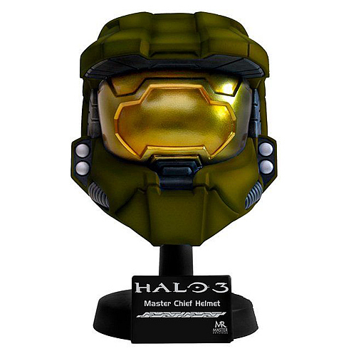 Halo 3 Master Chief Scaled Green Helmet Replica