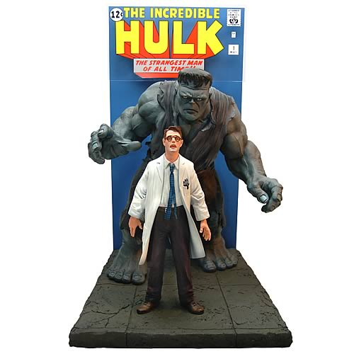 Incredible Hulk Comic Book Cover Scene Replica