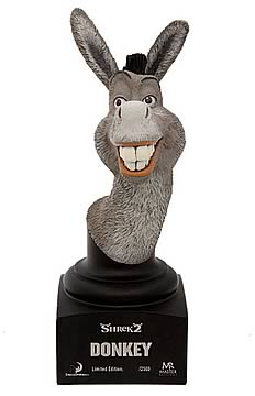Shrek 2 Donkey Mini Bust