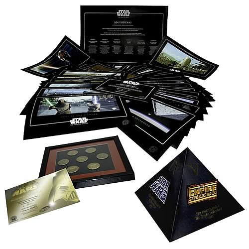 Star Wars The Movie Saga Lithograph Patch and Pin Set