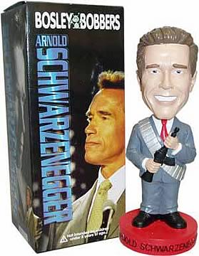 Gov. Schwarzenegger Bobble Head