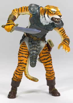 EverQuest Tiger Warrior Figure