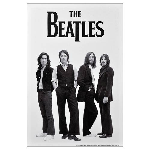 The Beatles White Album 1969 Medium Canvas Print