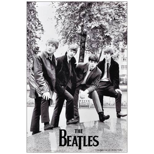 The Beatles Please Please Me 1963 Large Canvas Print