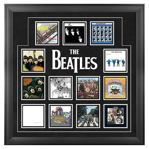 The Beatles U.K. Framed Album Covers
