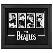 Beatles Four Photo Framed Presentation