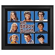 Brady Bunch Limited Edition Framed Presentation