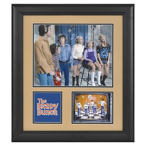 Brady Bunch 15x17 Framed Presentation