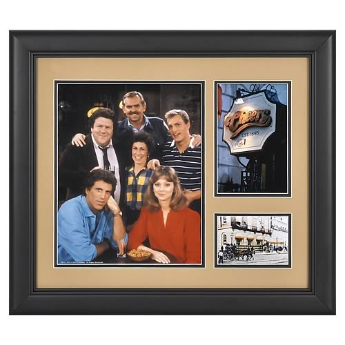 Cheers 15x17 Framed Presentation