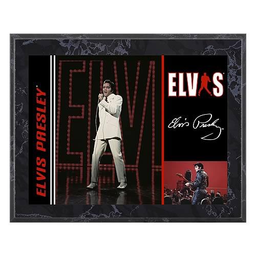 Elvis Presley 1968 Special 8x10 Plaque