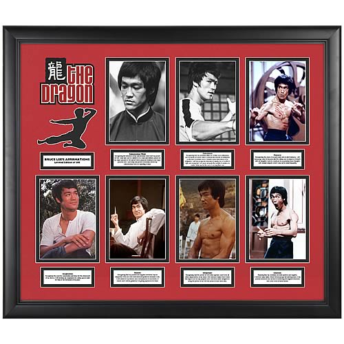 Bruce Lee Affirmations Limited Edition Framed Photos