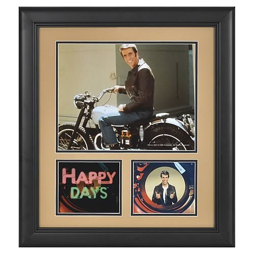Happy Days Fonzie Framed Presentation