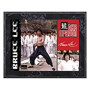 Bruce Lee The Dragon 8x10 Plaque