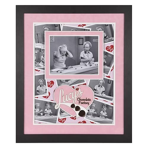 I Love Lucy Chocolate Factory  Framed Photo