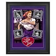 I Love Lucy Grape Stomping Framed Photo