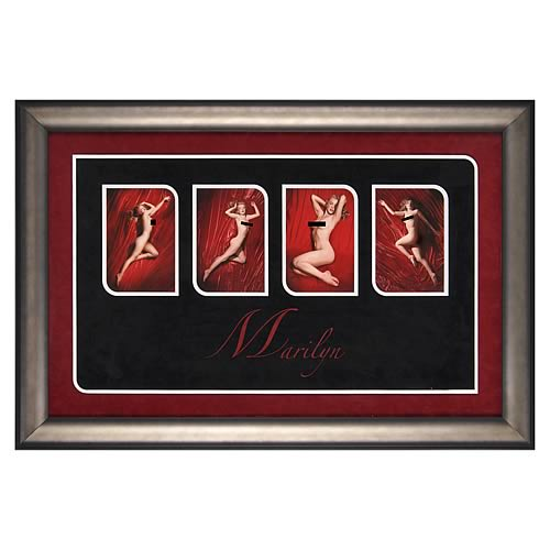 Marilyn Monroe Red Velvet Framed Photos