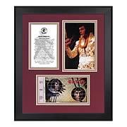 Elvis Presley Aloha From Hawaii 35th Ann. Framed Photo