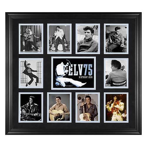 Elvis Presley 75th Birthday Framed Photo