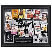 Elvis Presley in Hollywood Framed Collectible