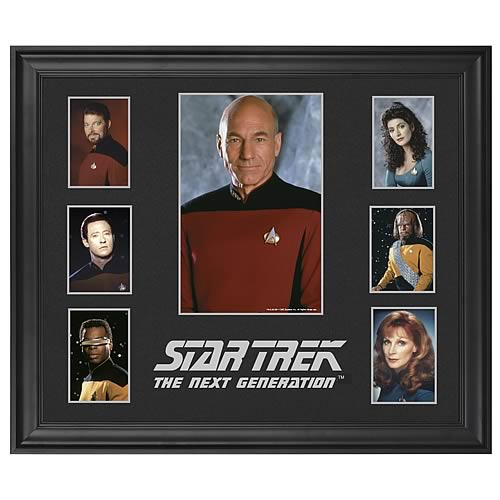Star Trek Next Generation LE Framed Presentation