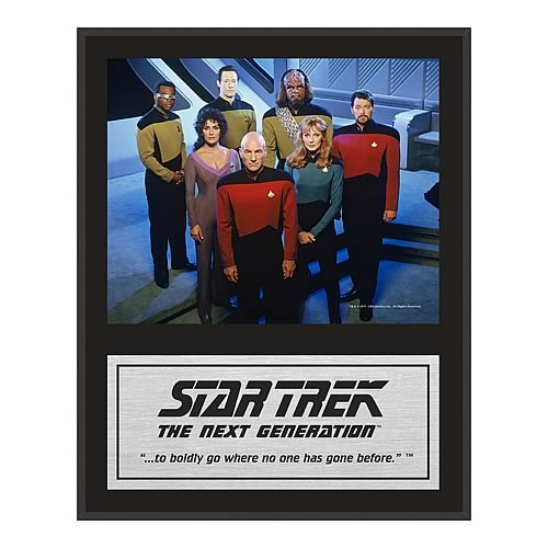 Star Trek The Next Generation Crew Series 2 Framed Photo