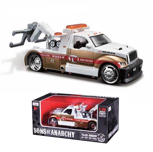 Sons of Anarchy Teller-Morrow 1:24 Scale Die-Cast Tow Truck