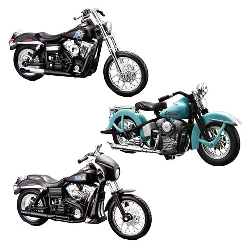 Sons of Anarchy 1:18 Scale Die-Cast Motorcycle Ser. 2 Set