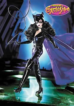 Barbie as Catwoman Doll