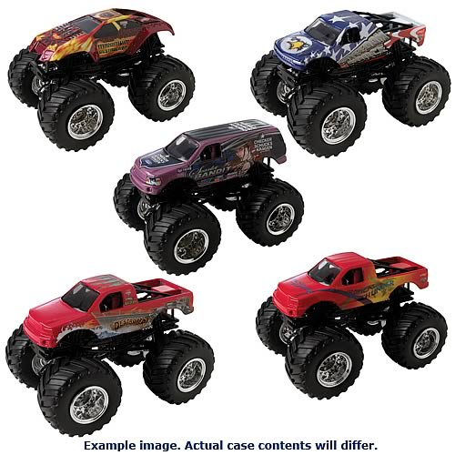 Hot Wheels 1:64 Scale Monster Jam Wave 8 Case