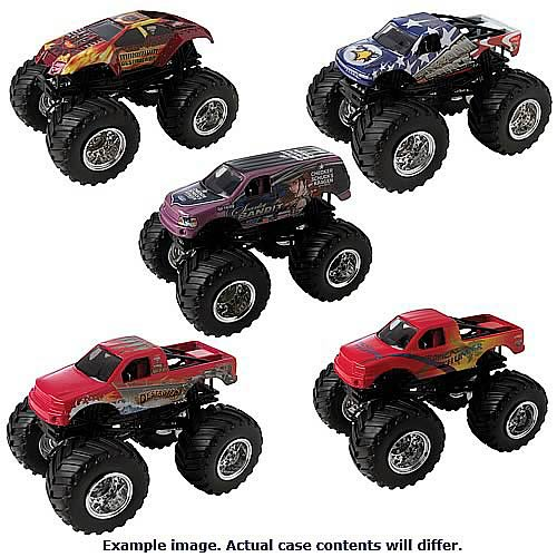 Hot Wheels 1:64 Scale Monster Jam Wave 13 Case
