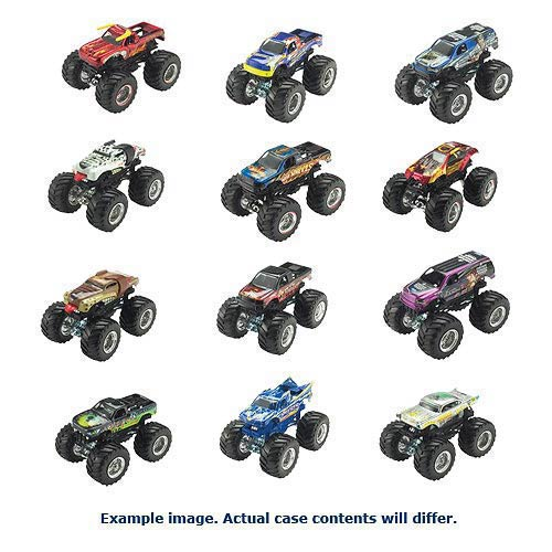 Hot Wheels Monster Jam 1:64 Scale 2014 Wave 3 Case