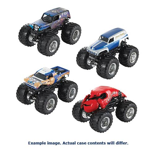 Hot Wheels Monster Jam 1:64 Scale 2014 Wave 6 Rev. 2 Case