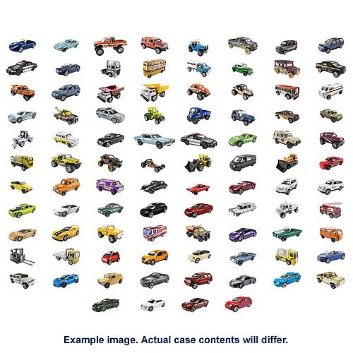 Matchbox Car Collection 2009 Vehicles Wave 4 Case