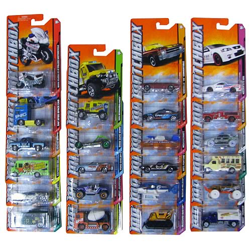 Matchbox Car Collection 2012 Vehicles Wave 3 Case
