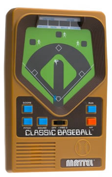 Classic Baseball Handheld Game