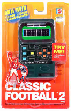 Classic Football Handheld Game
