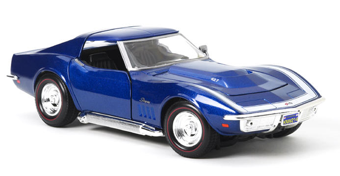 1969 Corvette, Metallic Blue