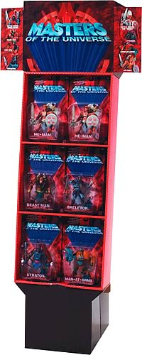Masters of The Universe Action Figure Floor Display