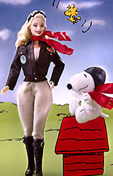 Barbie Doll and Snoopy