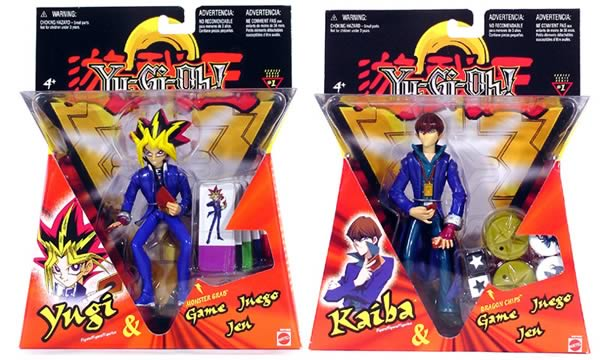 Yu-Gi-Oh 6in. Figures w/ Game