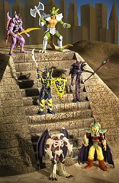 Yu-Gi-Oh 2 in. Figure Series 4