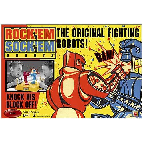 Rock Em Sock Em Robots Game