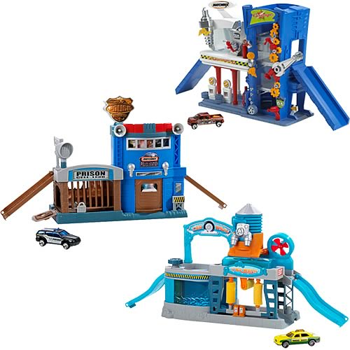 Matchbox City Playset Case